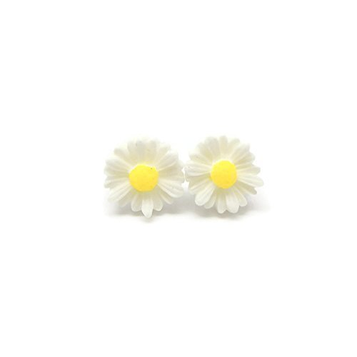 earrings rose kerr chain jewellery shop daisy silver small fiona stud gold