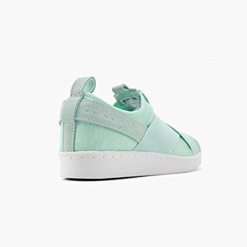 adidas Originals Frauen Superstar Slipon W Sneaker Eisminze / Eis Mint-weiß