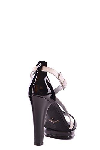 MCBI148199O Hogan Black Women's Sandals Leather vqrq5fwg