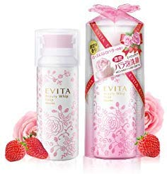 Kanebo Evita Beauty Whip Soap Rose Strawberry Limited Edition ()
