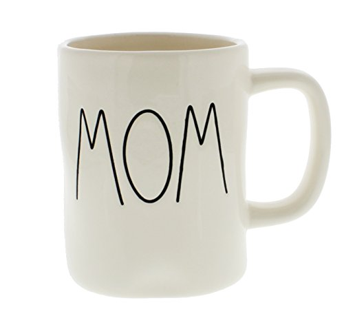 Rae Dunn Magenta Ceramic Coffee Mug Mom