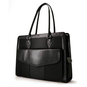 MOBILE EDGE 17 geneva large notebook handbag (black)