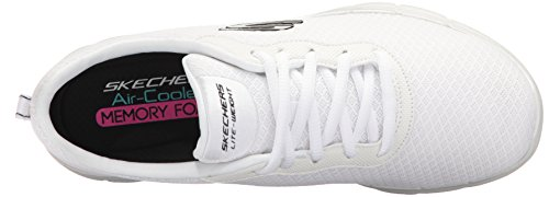 Appeal Flex 2 white 0 Skechers Femme Blanc newsmaker Baskets q5TdRcf