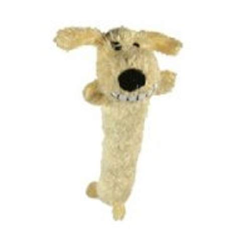 Loofa Dog 12'' Plush Dog Toy, Colors May Vary