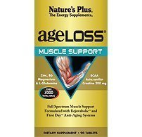 Nature's Plus. Ageloss Muscle Support. 90 Vcaps