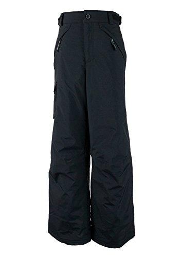 Obermeyer Carve Cargo Teen Boys Ski Pants - X-Large/Black