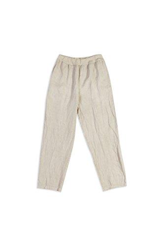 vita Abbigliamento puro Pantalone in estivi Collezione e tasche con elastico in E lino Beige Poi Lino xA5fwn7fq8