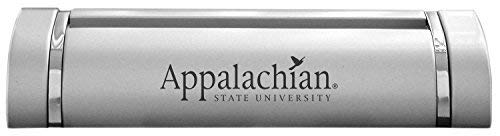 (LXG, Inc. Appalachian State University-Desk Business Card Holder -Silver)