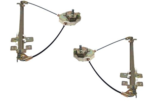 DELPA CL5299 > Left & Right = Manual Window Regulator Fits: 89-98 GM Geo Tracker 2D 2 Door (Geo Tracker Manual)