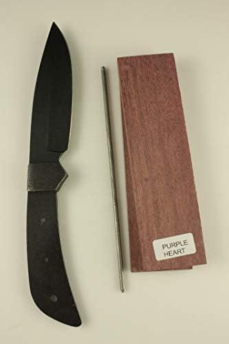 Stone Washed Yellow Horse Knife kit – Payne BROS – Knife Making – DIY Knife Kits