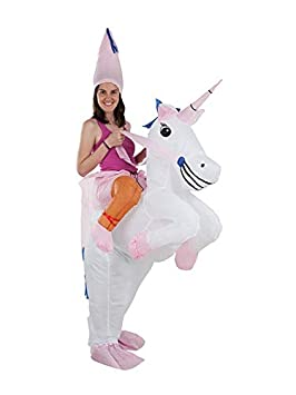 DISBACANAL Disfraz Unicornio Hinchable Adulto: Amazon.es ...