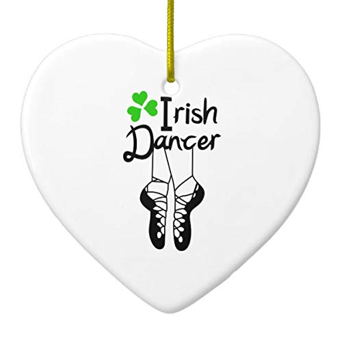 Irish Dancer Ceramic Ornament for sale  Delivered anywhere in USA