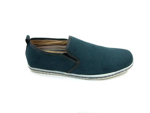 Mens 30202s Slip On Mocassino Mocassino Scarpe Casual Verde