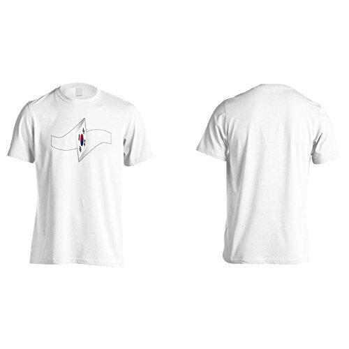 Neue Südkorea Flagge Schön Herren T-Shirt l993m