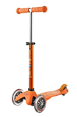 Mini Deluxe 3-Wheeled, Lean-to-Steer, Swiss-Designed Micro Scooter for Kids, Ages 2-5 from Micro Kickboard
