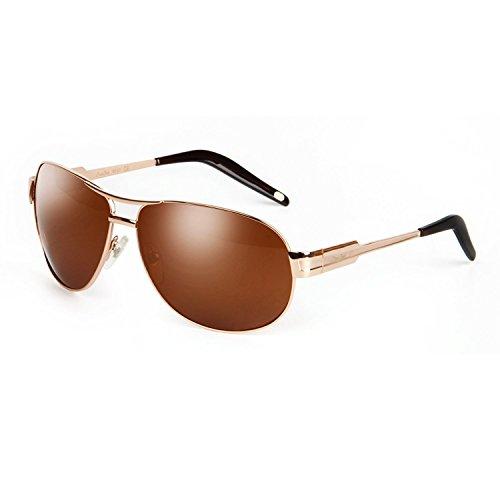 Sunglasses Men Aviator Sun Glasses Green Color Brand Design - 8