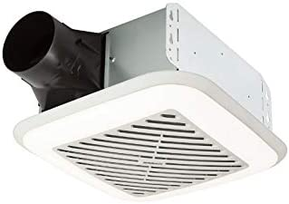 Broan-Nutone 791LEDM InVent Series Single-Speed Fan with LED Light, Ceiling Room-Side Installation Bathroom Exhaust Fan, ENERGY STAR Certified, 1.5 Sones,