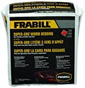 Frabill Super Grow Worm Bedding   100% Biodegradable Worm Food Source