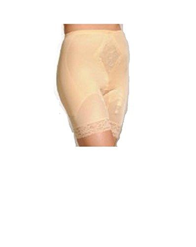 Leg Pantie Girdle Style 6795 - Beige - Large (Long Leg Pantie Girdle)