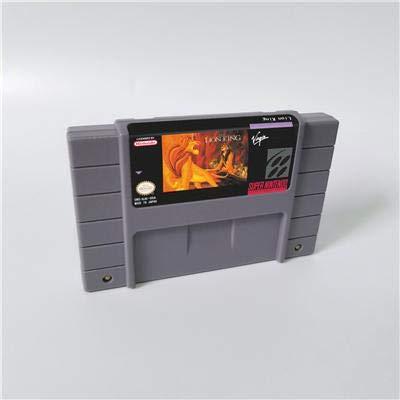 Game card - Game Cartridge 16 Bit SNES , Game The Lion King - Action Game Card US Version English Language (Lion King Super Nintendo)