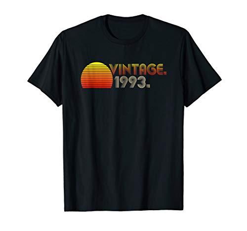 Vintage 1993 - 26th Birthday Gift Men Women T-Shirt ()