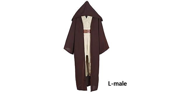 RivenDell Traje de túnica con Capucha, túnica con Capucha ...