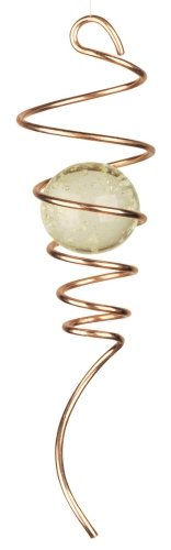 Spinner Copper (Red Carpet Studios Cyclone Copper Tail Wind Spinner with Glow-in-the-Dark Marble)