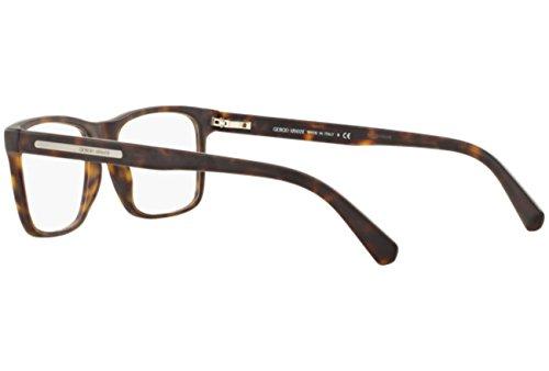 1e998aedf1 Giorgio Armani Montures de lunettes Pour Homme 7027 - 5089: Matte Tortoise  - 55mm: Amazon.fr: Chaussures et Sacs
