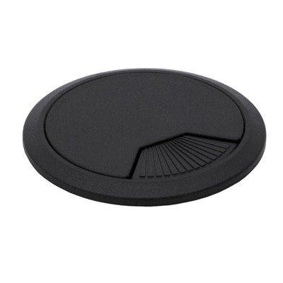 Grommet Color: Black, Size: 0.99