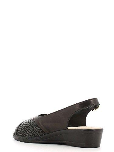Noir Femmes 2501S Susimoda Sandales compensées xpaTWFq