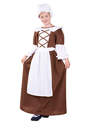 Colonial Peasant Teen Costume, Teen Size:16-18