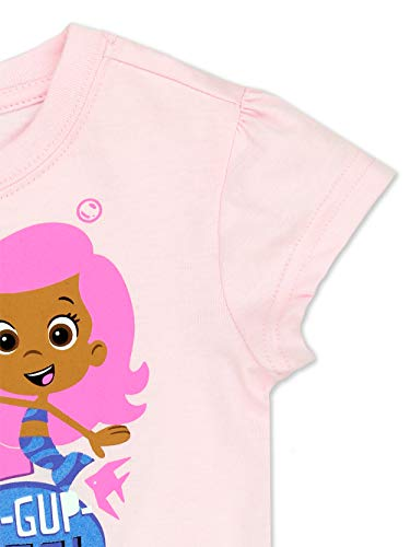 5b3825aaad Bubble Guppies Toddler Girls Short Sleeve T-Shirt Tee (2T