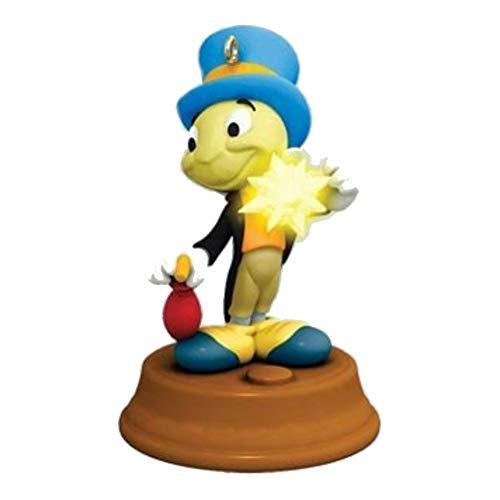 Walt Disney Jiminy Cricket - 1 X 2011 Hallmark JIMINY CRICKET Miniature Magic Ornament from Walt Disneys Pinocchio - QXM9147