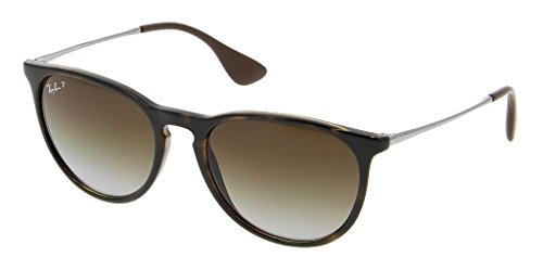 Ray Ban RB4171 710/T5 54 Havana/Polarized Brown Gradient Erika Bundle-2 - Havana Ray Ban Polarized Erika