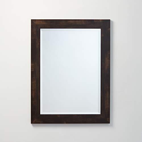 Better Bevel Framed Rectangle Wall Mirror   Vanity, Bedroom, or Bathroom   -