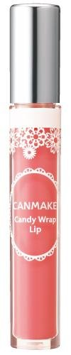 IDA-Laboratories-CANMAKE-Lip-Gloss-Candy-Wrap-Lip-03-Peach-Shower-japan-import