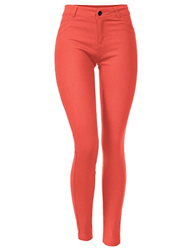 Junior Sizing Skinny Fit Stretchy Long Jegging Pants