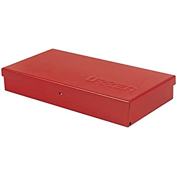 metal tool box 15 l x 6 5 7 w x 2 1 6 h 24 sheet gauge amazon com