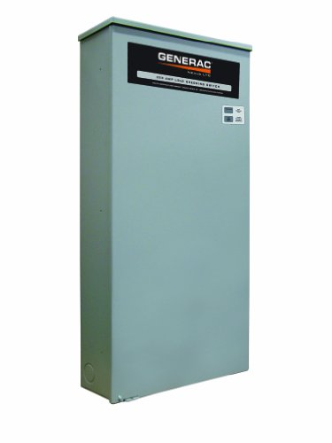 Generac RTSJ200A3 Nexus LTS 200A-Amp 120/240 1 NEMA 3R Load Shed (Discontinued by (Load Side Generator Transfer Switch)