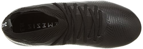 adidas Unisex Nemeziz 18.3 Firm Ground Soccer Shoe, Black/White, 5.5 M US Big Kid by adidas (Image #8)