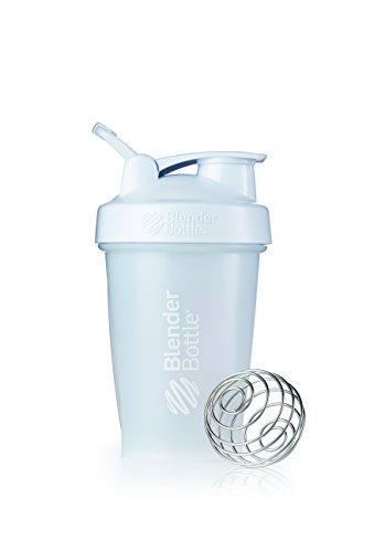 BlenderBottle SC00592 Classic Loop Top Shaker Bottle, 20-Ounce, Frosted White