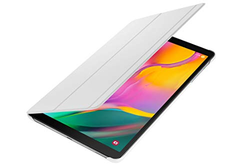 Galaxy Tab A 10.1 Book Cover -White (Best Samsung Galaxy Tablet 2019)