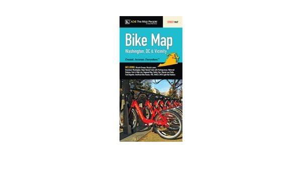 Washington, Dc Regional Area Bike Map: Metropolitan Washington ... on