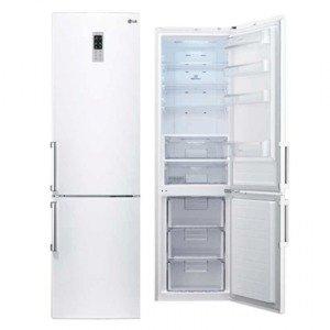 LG GBB530SWQZS Independiente 343L A++ Blanco nevera y congelador ...
