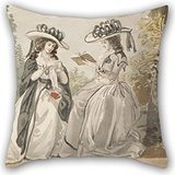 Elegancebeauty Oil Painting Lady Salesbury - The Misses Van And Lady Salisbury Pillowcover 18 X 18 Inches / 45 By 45 Cm Best Choice For Indoor,teens,boys,home Office,deck Chair,sofa With Double Sid - Miss Big Boy Chair