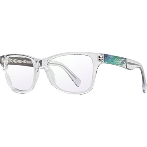 Shwood RX Canby Acetate Glasses | Crystal & Abalone Shell - - Glass Canby