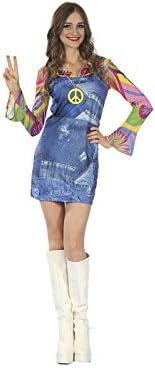 DISONIL Disfraz Hippie Vaquera Mujer Talla S: Amazon.es: Juguetes ...