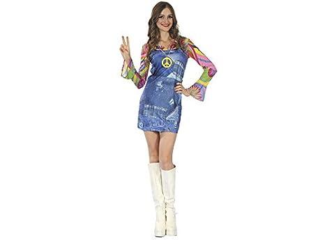 DISONIL Disfraz Hippe Vaquera Mujer Talla L: Amazon.es: Juguetes y ...