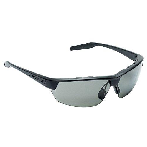 Native Eyewear Hardtop Ultra Polarized Sunglasses, Matte Black - Number Sunglass Hut