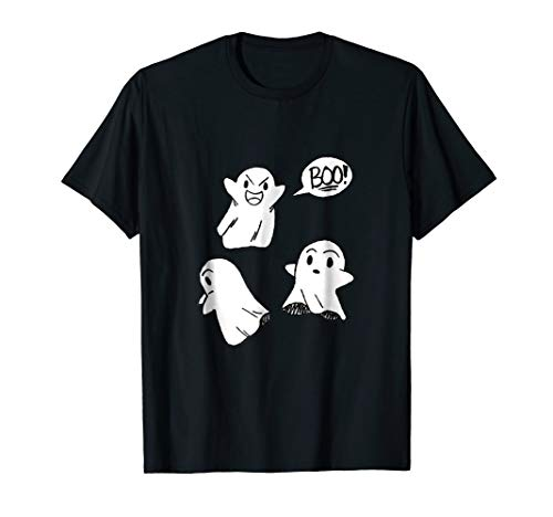 Halloween Ghost Trio Boo Cute Costume Shirt -